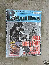 Jäger sur le front de l'Est 21.LW Feldivision magazine Batailles hors série N°14