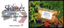 Habanero Powder or Flakes-1kg Australian Made EXTRA HOT Shanez