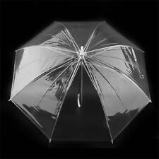 PVC Hochzeit Brolly Kuppel Regenschirm transparent klar durchsichtig Kunststoff