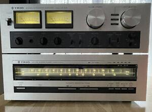 vintage trio amplifier And Tuner
