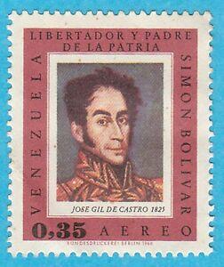 Scott # C942 - 1966 - ' Bolivar Portrait '