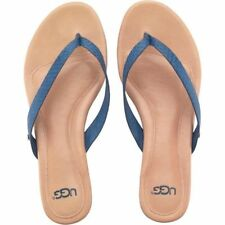 UGG Womens Allaria II Exotic Flip Flops Skyline Blue UK 5.5 EU 38 US 7