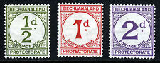 BECHUANALAND PROTECTORATE 1932-58 POSTAGE DUES SG D4 to SG D6 MINT