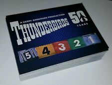 Unstoppable Cards Thunderbirds 50th Anniversary Complete Trading Card Set