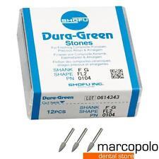 Frese dentali Arkansas contrangolo Shofu Dura-White/Green Dental Burs Stones