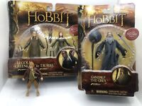 The Hobbit Action Figures Bilbo, Legolas, Tauriel, Gandalf Lord Of The Rings