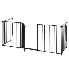 Baby Safety Fence Hearth Gate Metal Fire Pit Rail Fireplace Child Toddler Guard