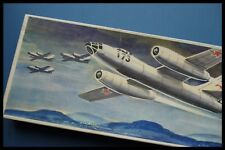 VEB PLASTICART IL-28 1/100 Scale Model Kit Box Made In GDR 1977