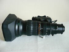 "Mint Fujinon A13x6.3BRM-SD wide angle 2/3"" broadacest lens, Canon BCTV, ENG"