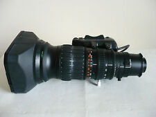 "Mint Fujinon A13x6.3BRM-SD wide angle 2/3"" broadcast lens, Canon BCTV, ENG"