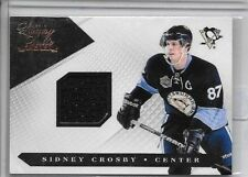 SIDNEY CROSBY 2010-11 PANINI LUXURY SUITE GAME USED JERSEY#/599