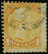Canada   1870   Unitrade # 35   USED Stitch Watermark - Reperforated