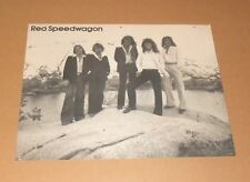 REO Speedwagon Original Promo 24 x 20 Poster Vintage 70s/80s