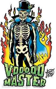 Voodoo Master Sticker Decal Artist Vince Ray VR18