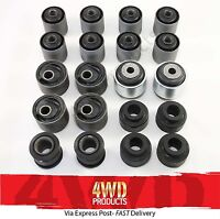 Full Suspension Arm Bush kit w/Castor Bushes - for Nissan Patrol GU (02/00-17)