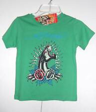 Ed Hardy Kids Toddler Boys SIZE- 3/4 T-shirt NWT