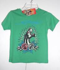 Ed Hardy Kids Toddler Boys SIZE- 3/4 T-shirt NWT