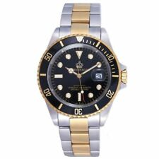 Watch Gold Datejust Dial Steel Diamond Chest Yellow Oyster President Mens Date