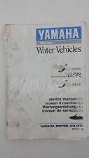 Yamaha MARINE JET 650TX 700TX WAVERUNNER VXR PRO Factory Service Manual Dec 1992