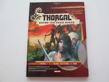 THORGAL ENTRE LES FAUX DIEUX AVEC DVD TBE EDITION ORIGINALE