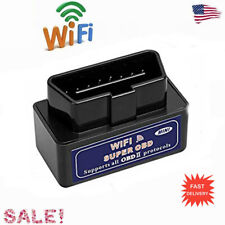 ELM327 WiFi OBD2 Car Diagnostics Scanner Tool Code Reader for iOS Android