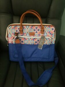 Nicole Miller  Insulated Large Cooler 16in L×13In H ×9in W tote