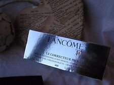 Lancome LE CORRECTEUR Pro-professionale Concealer Palette 550 Deep in pelle scamosciata-Nuovo con Scatola