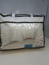 SNOWMAN White Goose Down Comforter CAL King Size 100% Cotton