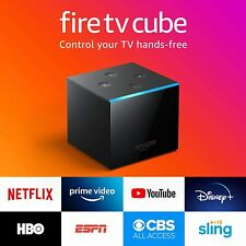 Fire TV Cube, hands-free with Alexa built in, 4K Ultra HD, streaming media