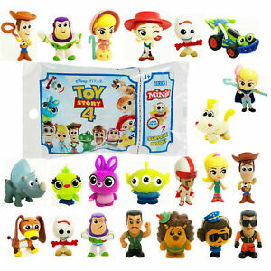 Disney Pixar Toy Story 4 Mini Figure Blind Bag Party Filler Cake Topper