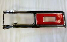 1974 1975 1976 Dodge Dart Left Tail Light Bezel and Lens NEW OLD STOCK 3728401