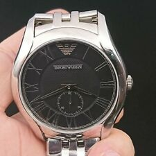 NEW OLD STOCK EMPORIO ARMANI AR1706 STAINLESS STEEL QUARTZ MEN WATCH