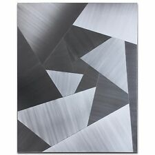 Cubism Metal Art Abstract Steel Decor Modern Artwork Contemporary Wall Sculpture