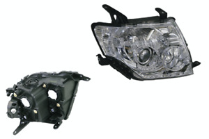 MITSUBISHI PAJERO NS/NT/NW/NX HEADLIGHT RIGHT HAND SIDE.11/2006 ~ 09/2015