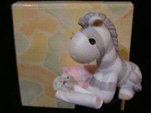 Precious Moments-Zebra And Mouse-True Friendship Is A Precious Treasure