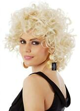 Sandy Wig Grease Costume Wigs 50s Bad Girl Short Blonde Curly Ladies and...