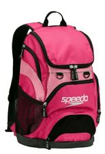 Speedo Backpack Large Teamster 35 L Swim Bag Liter AZALEA PINK Dive