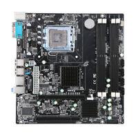 P45 Chipset Motherboard Socket LGA775 Mainboard 4*SATA3 for Intel DDR3 U5V6