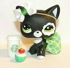 💞Littlest Pet Shop clothes accessories skirt bow Starbucks Free Lps #2249 Cat