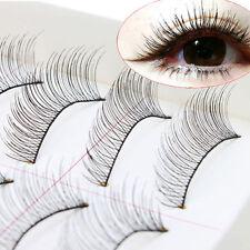 Hot Sell 10 Pairs Natural Long False Eyelashes Fake Eye Lashes Voluminous Makeup