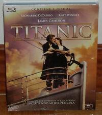 TITANIC BLU-RAY+DISCO EXTRAS EDICION 2 DISCOS NUEVO PRECINTADO (SIN ABRIR) R2
