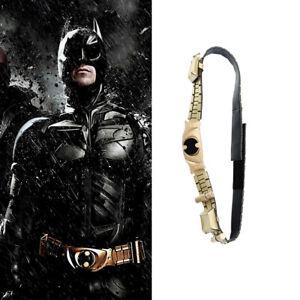 HZYM Batman Cosplay Belt Leather Waist Belt Gold Girdle With Thread Gluing