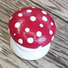 FAIRYLAND TOADSTOOL HAND PAINTED  KNOB FOR CUPBOARDS/ DRAWERS