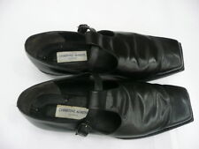 Vintage Christine Ahrens London Square Toed Leather Shoes For Men Year 1985 V&A