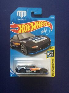 1:64 Hot Wheels Mad Mike '95 Mazda RX-7 HW Speed Graphics #27/250