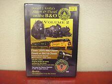 Donald J Krofta's Steam & Diesel On The B&O Volume 2 DVD Herron Rail Video
