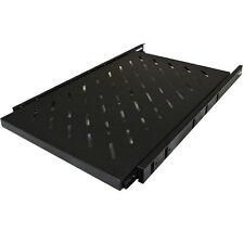 "19"" 1U Equipment Rack Sliding Support Shelf - Only For LMS 600 Deep Cabinets"