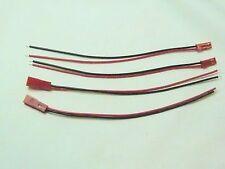 Lot de 2 Paires de Connecteurs JST Fiches Mâle Femelle avec cable
