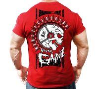 New Mens Monsta Clothing Fitness Gym T-shirt: Brutal Gainz