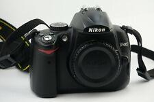 Nikon D5000 12.3MP Digitalkamera - Schwarz ,Gehäuse